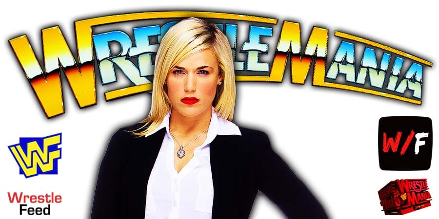 Lana WrestleMania 37 WrestleFeed App