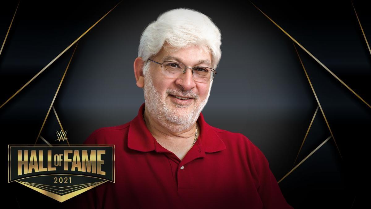 Longtime WWE employee Rich Hering WWE Hall Of Fame 2021 Warrior Award