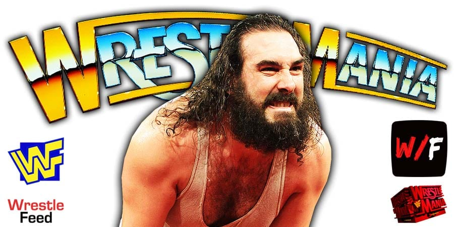 Luke Harper Brodie Lee WrestleMania 37 WrestleFeed App
