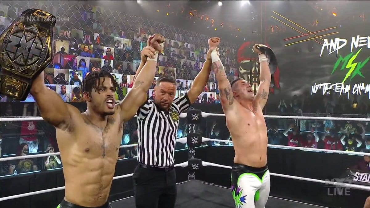 MSK Wins NXT Tag Team Championship TakeOver Stand & Deliver