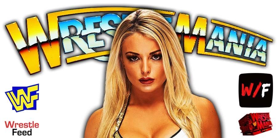 Mandy Rose WrestleMania 37 WrestleFeed App