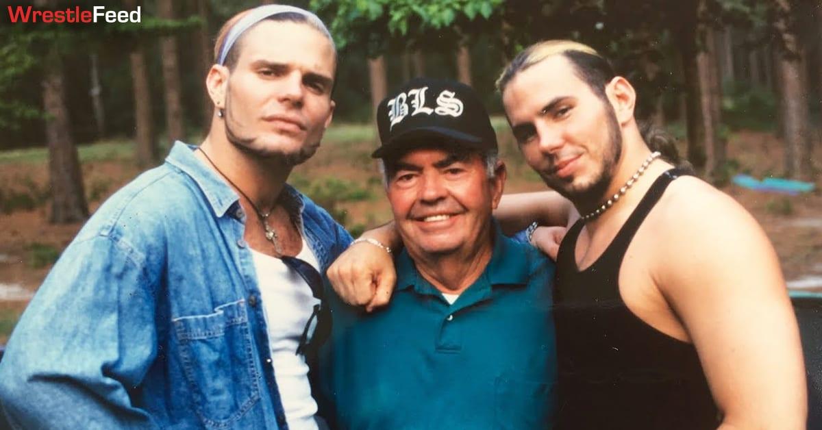 Matt Hardy Jeff Hardy Father Passes Away Death WrestleFeed App