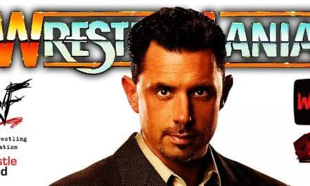 Michael Cole WrestleMania 37 WrestleFeed App