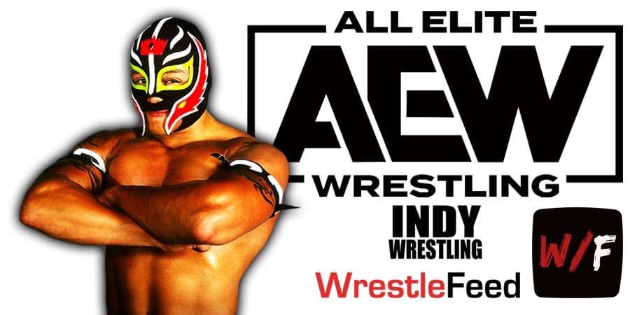Rey Mysterio AEW Article Pic 2 WrestleFeed App