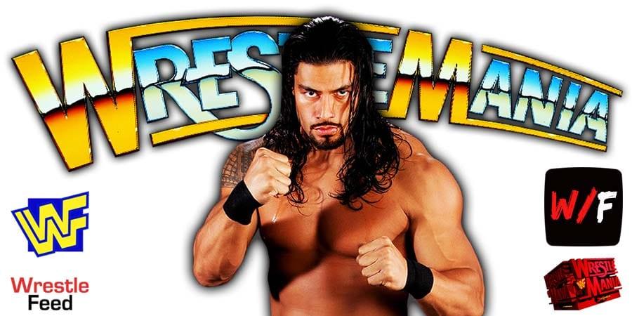 Roman Reigns Wins At WrestleMania 37 WrestleFeed App