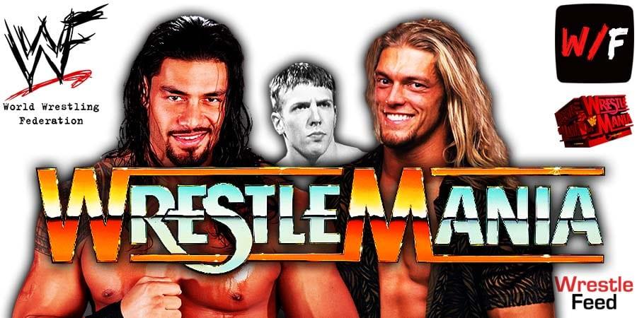 Roman Reigns defeats Edge and Daniel Bryan at WrestleMania 37