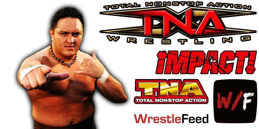 Samoa Joe TNA Impact Wrestling Article Pic 1 WrestleFeed App