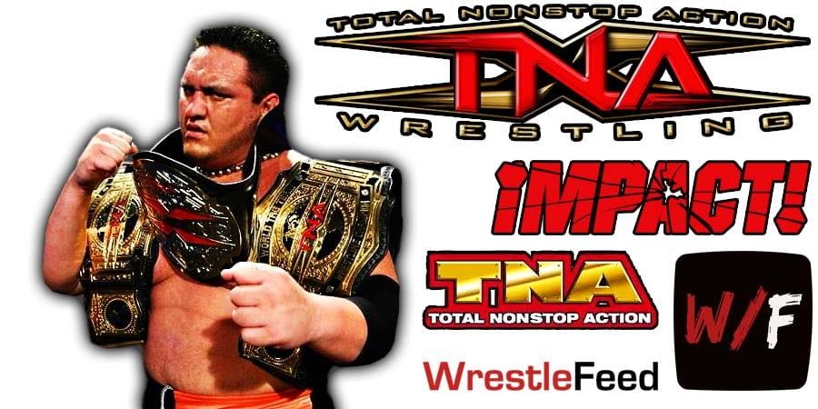 Samoa Joe TNA Impact Wrestling Article Pic 2 WrestleFeed App