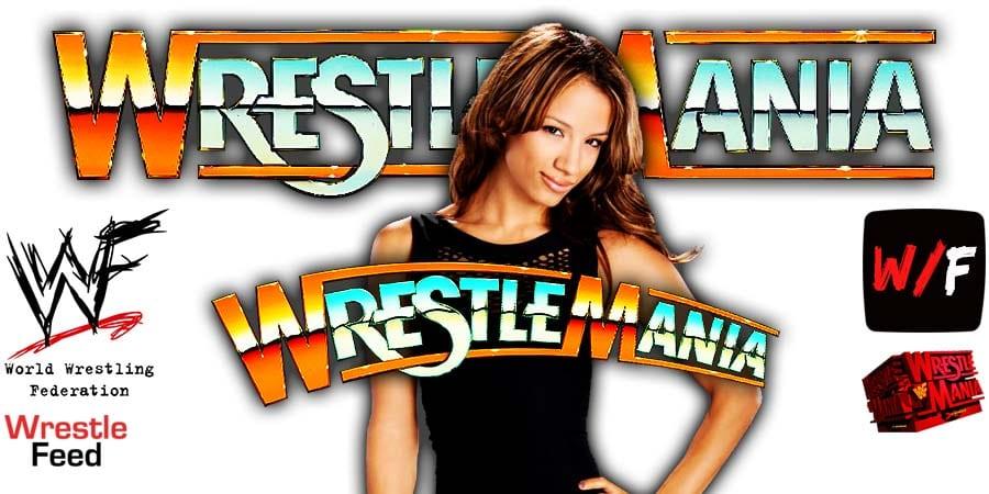 Sasha Banks WWE WrestleMania 37 WrestleFeed App