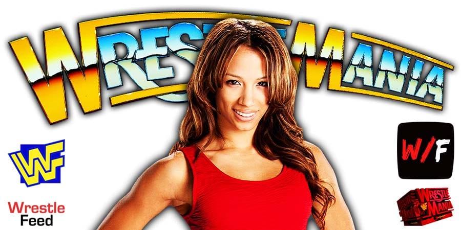 Sasha Banks WrestleMania 37 WrestleFeed App