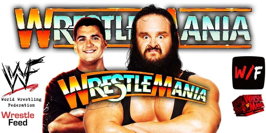 Shane McMahon Loses To Braun Strowman At WrestleMania 37 WrestleFeed App