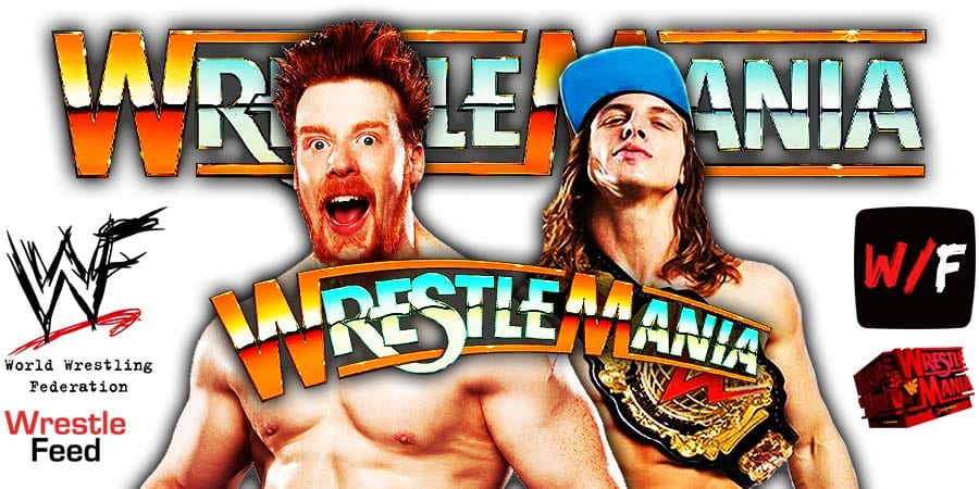 Sheamus Defeats Riddle At WrestleMania 37 WrestleFeed App