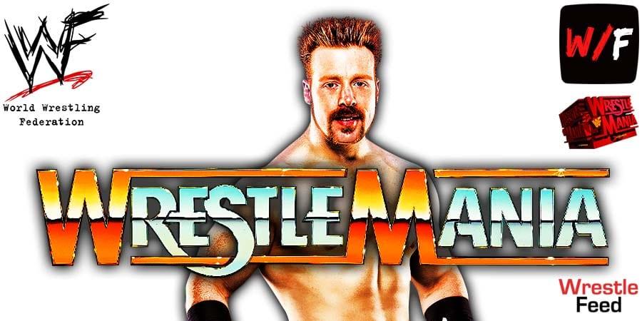 Sheamus WrestleMania 37 PPV WrestleFeed App