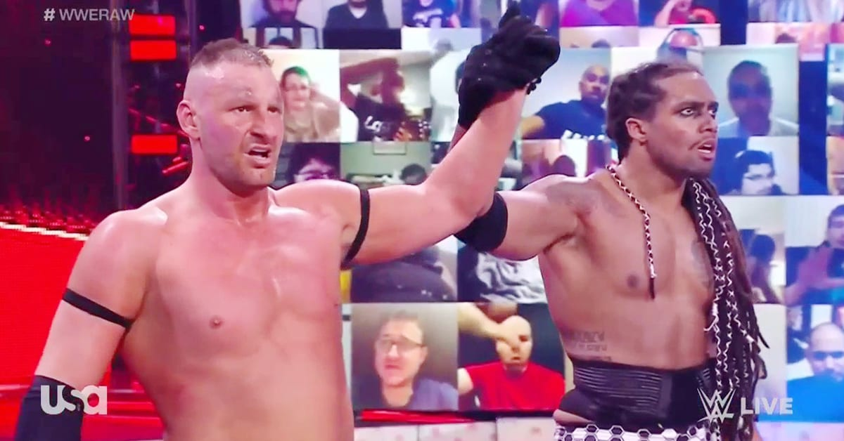 T-BAR MACE Unmasked On WWE RAW April 2021