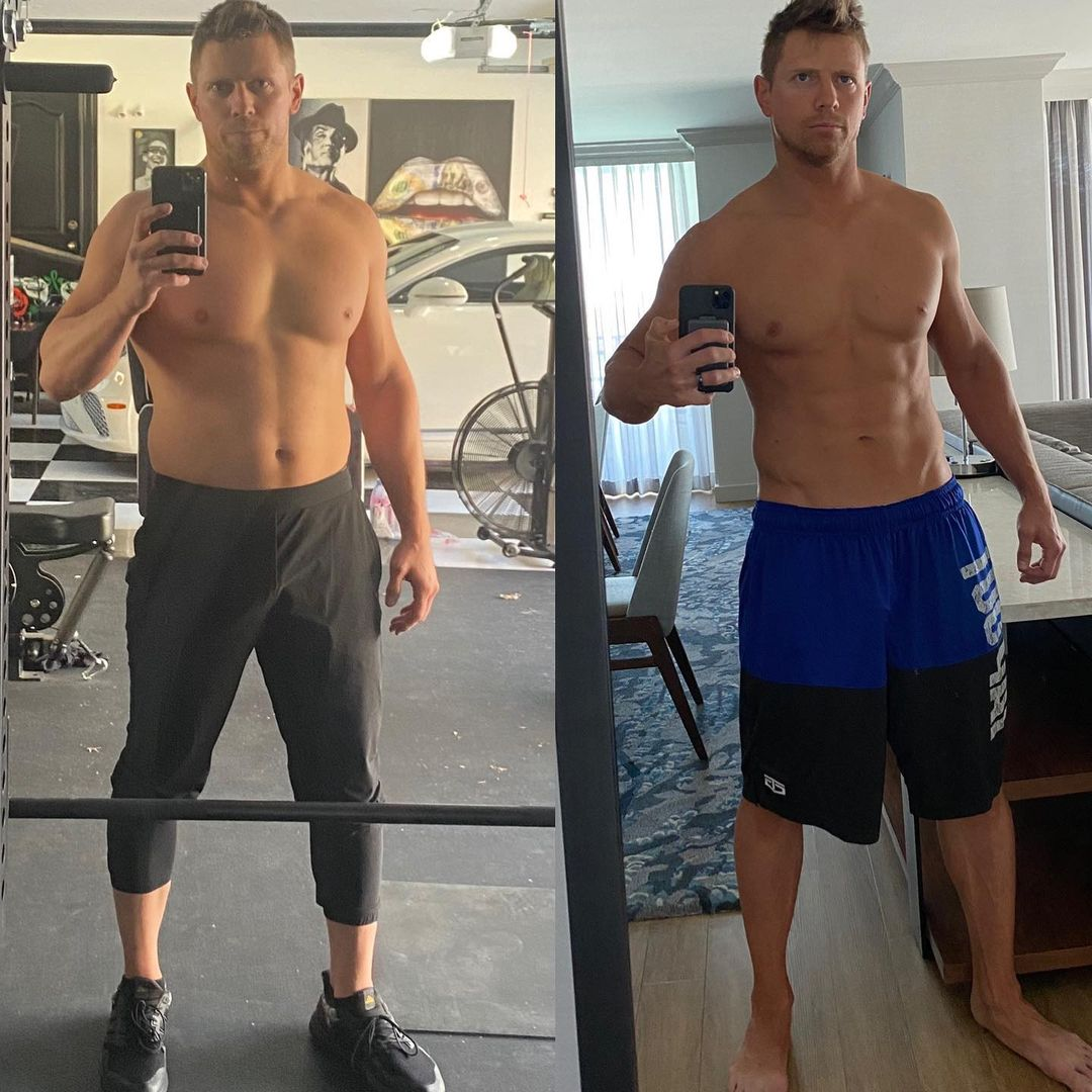 The Miz Physical Transformation 2021 - Loses 14 Lbs Pounds Of Weight