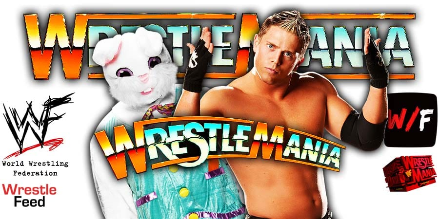 The Miz Pinned By Bad Bunny At WrestleMania 37 WrestleFeed App