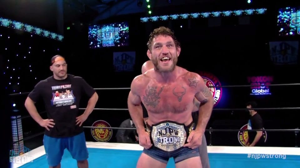 Tom Lawlor becomes the first-ever NJPW Strong Openweight Champion