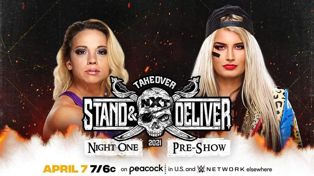 Toni Storm vs. Zoey Stark - NXT TakeOver Stand & Deliver Night 1 Pre-Show