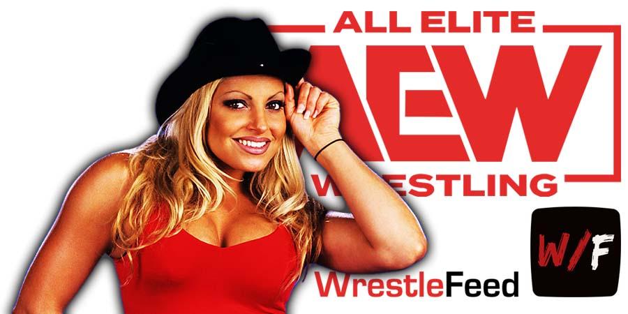 Trish Stratus AEW Article Pic 1 WrestleFeed App