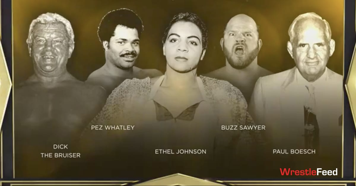WWE Hall Of Fame Class Of 2021 Legacy Inductees WrestleFeed App
