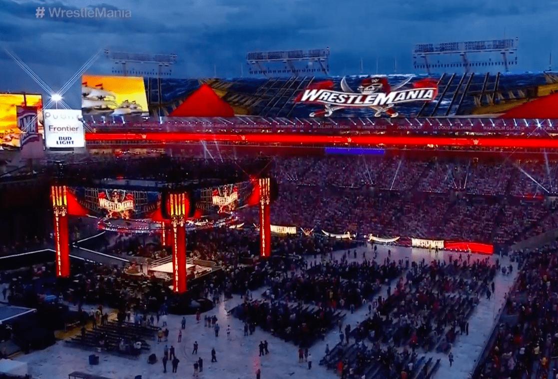 WrestleMania 37 Packed Stadium