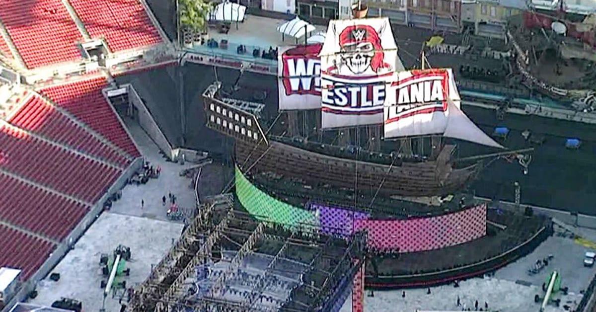 WrestleMania 37 Set Finished Look