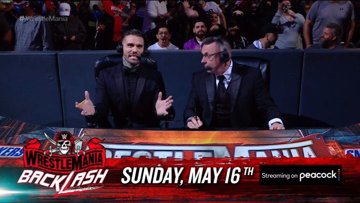 WrestleMania Backlash Corey Graves Michael Cole
