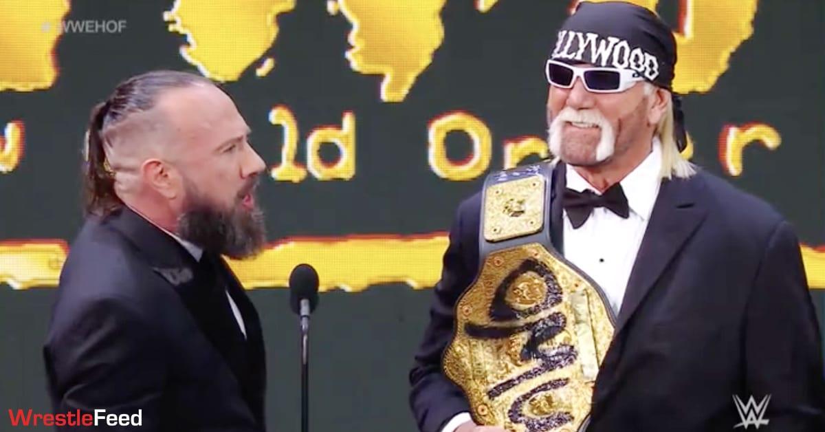 X-Pac Hollywood Hulk Hogan Big Gold Belt WCW World Heavyweight Championship nWo WWE Hall Of Fame WrestleFeed App