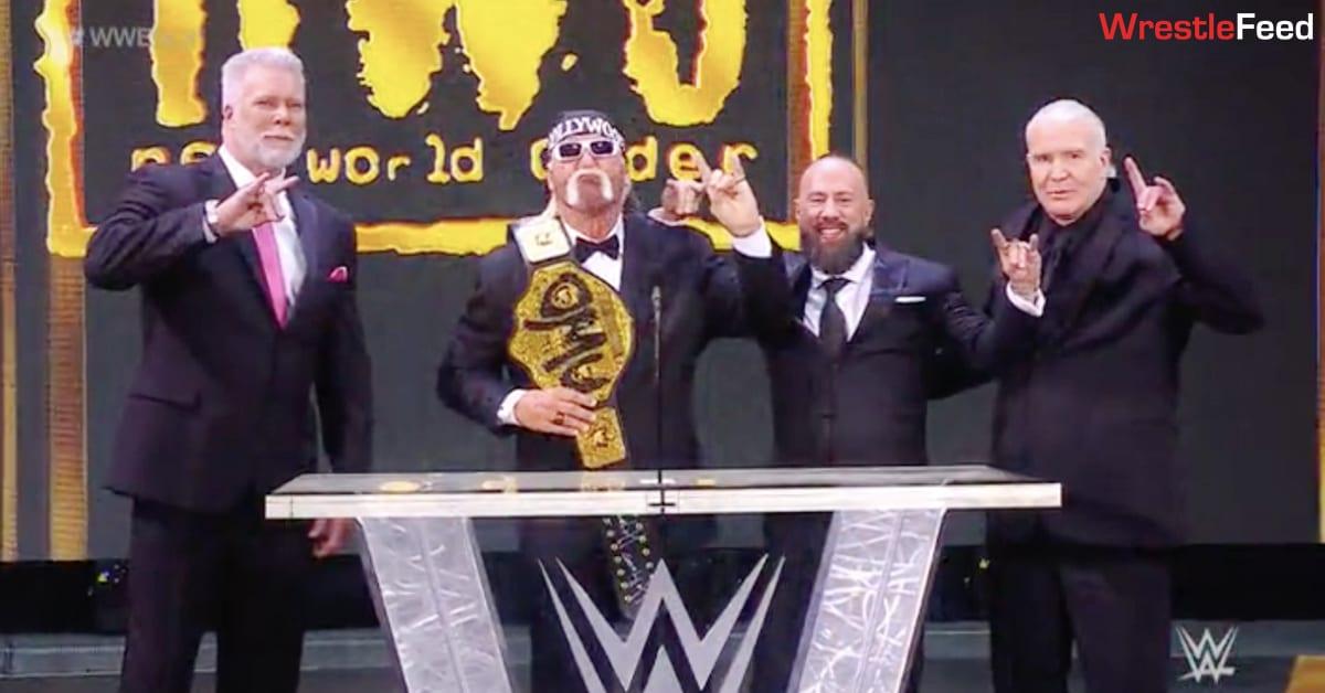 nWo Kevin Nash Hollywood Hulk Hogan X-Pac Scott Hall WWE Hall Of Fame WrestleFeed App