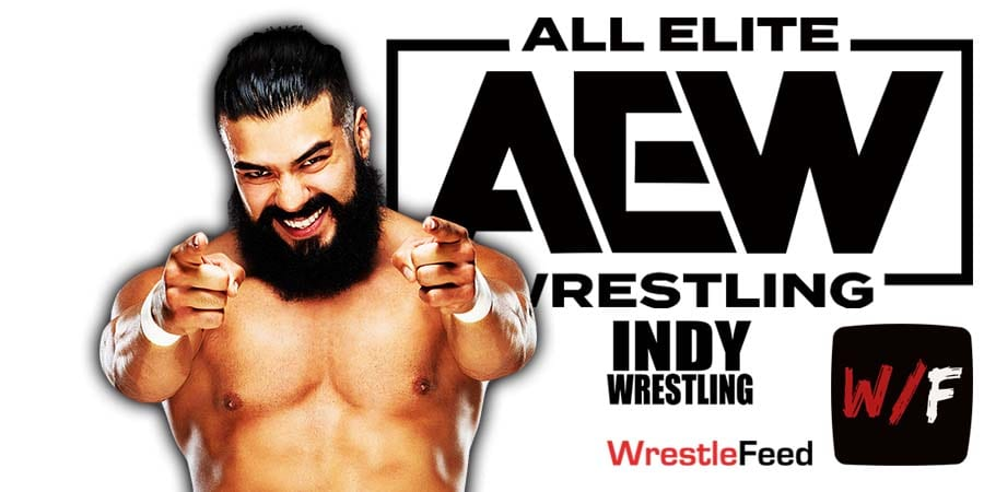 Andrade AEW Article Pic 1 WrestleFeed App