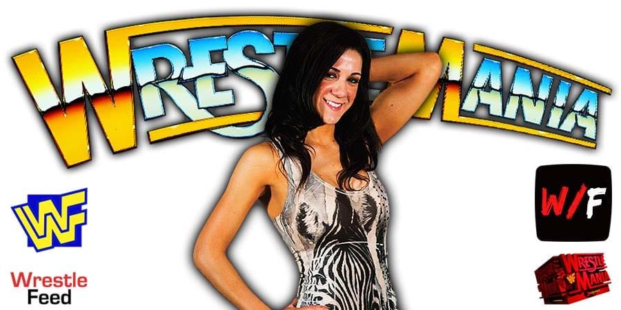 Bayley WrestleMania 38 WrestleFeed App
