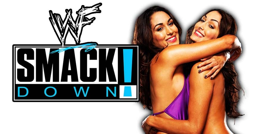 Bella Twins Nikki Brie SmackDown Article Pic 1