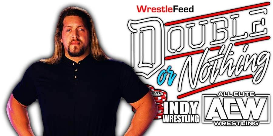 Big Show Paul Wight AEW Double Or Nothing 2021 WrestleFeed App