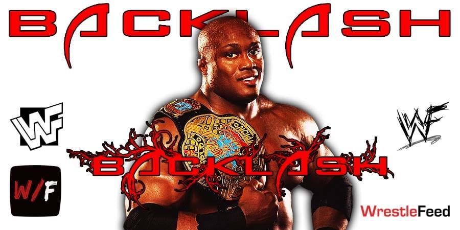 Bobby Lashley Wins At WrestleMania Backlash WrestleFeed App