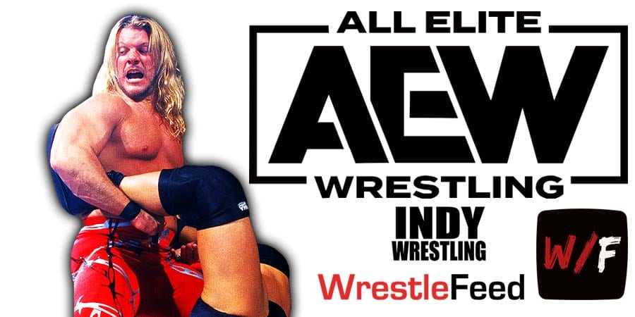 Chris Jericho AEW All Elite Wrestling Article Pic 9 WrestleFeed App