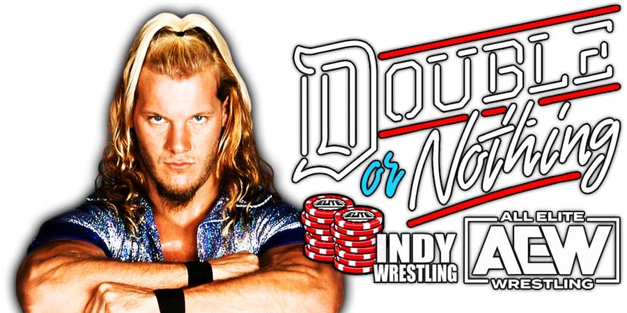 Chris Jericho AEW Double Or Nothing 2021
