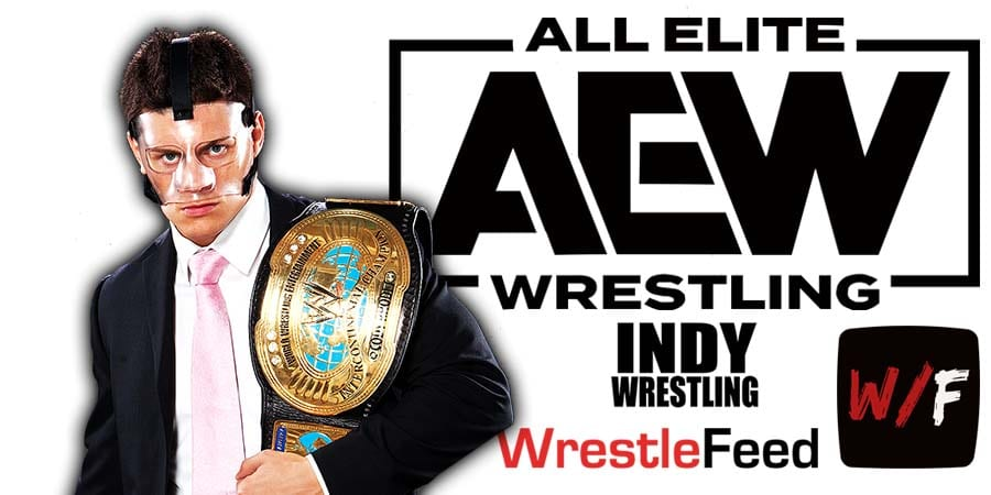 Cody Rhodes AEW Article Pic 3 WrestleFeed App
