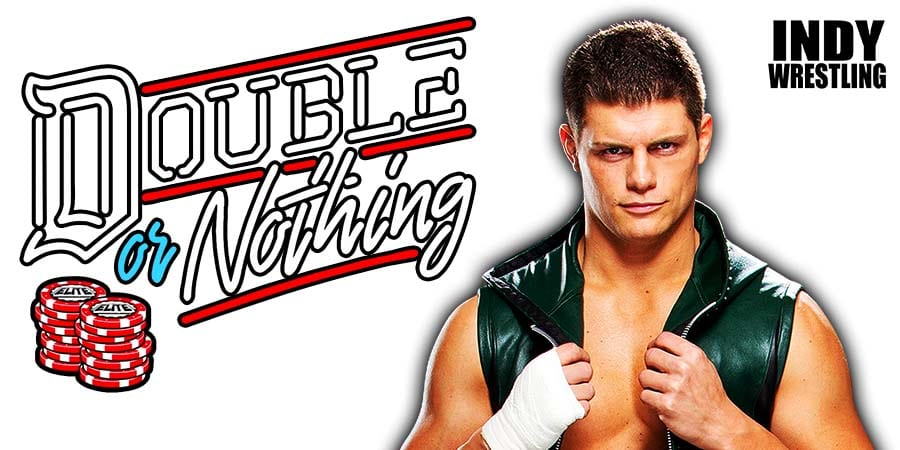 Cody Rhodes AEW Double Or Nothing 2021