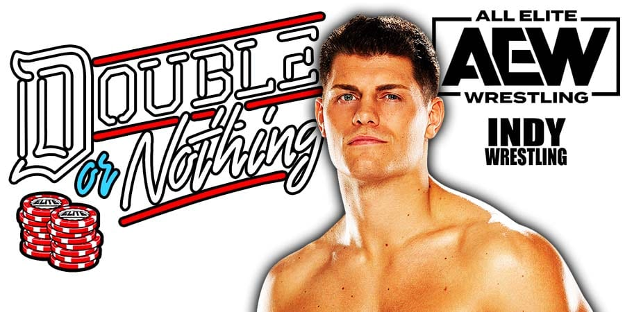 Cody Rhodes Wins At AEW Double Or Nothing 2021