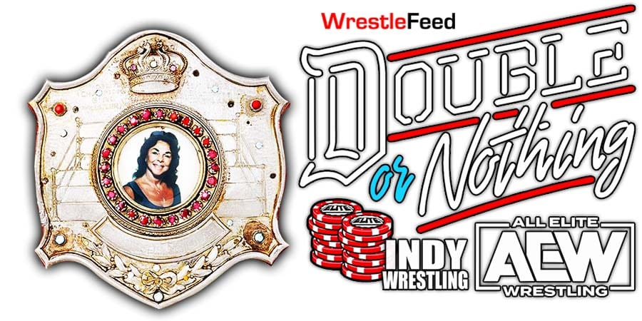 Double Or Nothing Women's Title Match WrestleFeed App