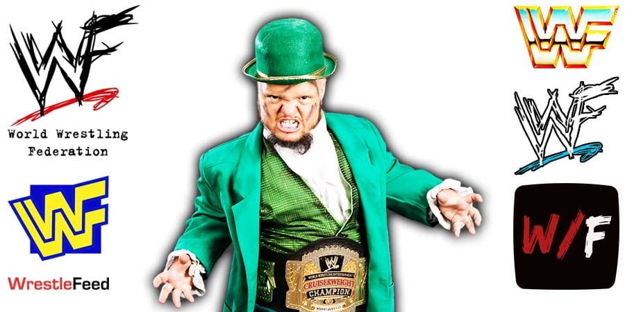 Hornswoggle WWE Cruiserweight Champion Article Pic 1 WrestleFeed App