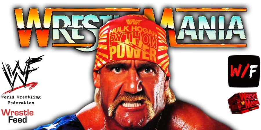 Hulk Hogan WrestleMania 38 WrestleFeed App