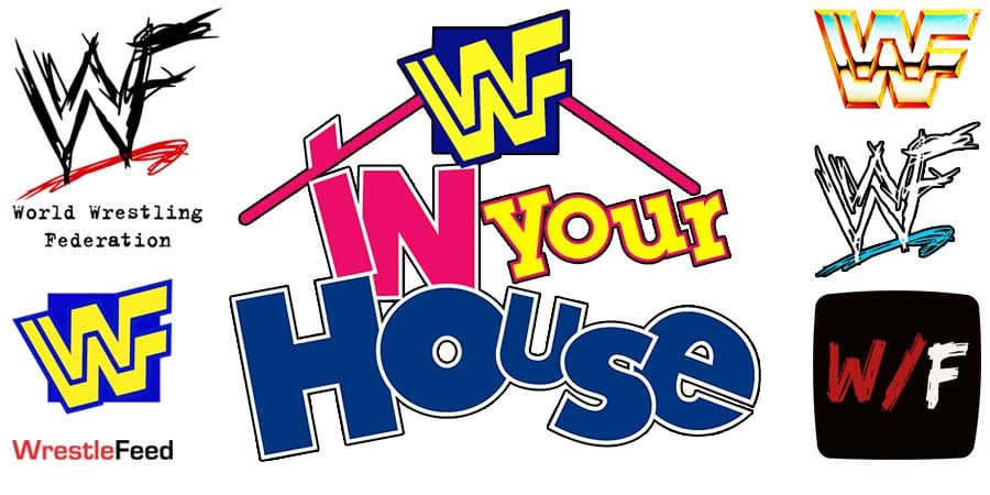 In Your House Logo WrestleFeed App
