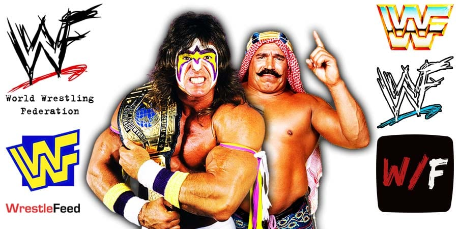 Iron Sheik Claims Ultimate Warrior Was Sleeping With Men For Money WWF WrestleFeed App
