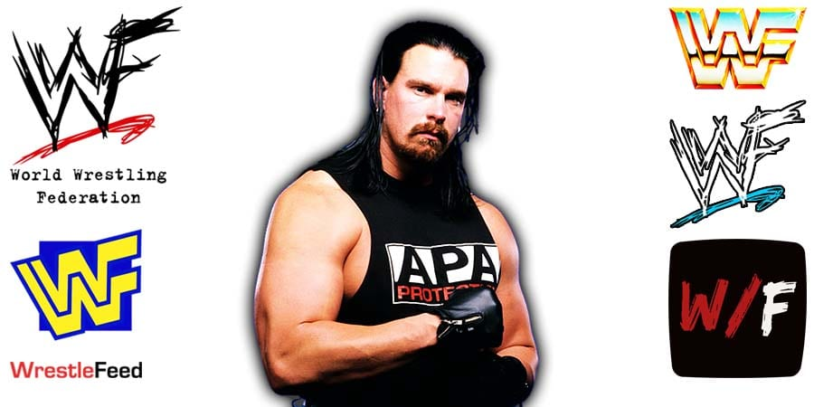 JBL - Justin Hawk Bradshaw APA Blackjack Article Pic 2 WrestleFeed App
