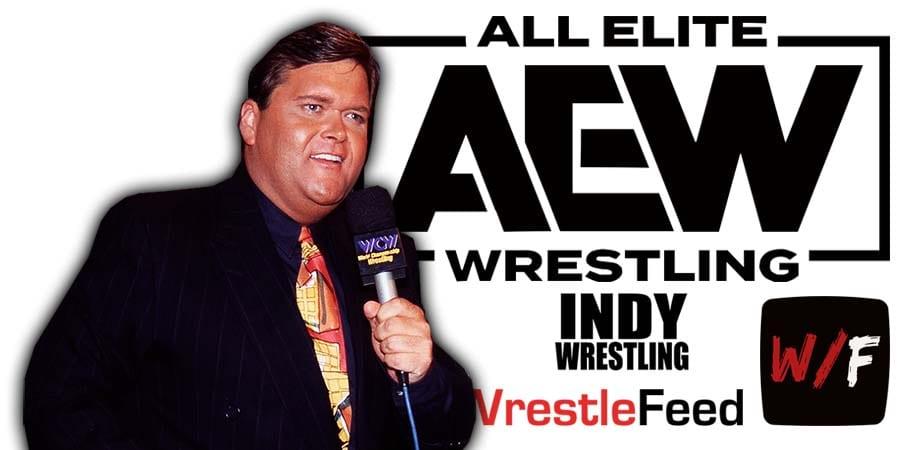 Jim Ross AEW All Elite Wrestling Article Pic 4 WrestleFeed App