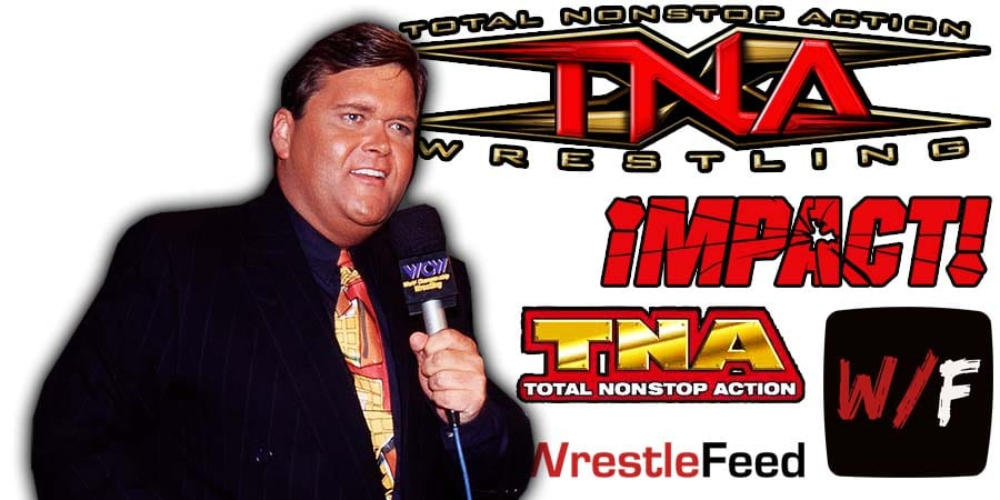 Jim Ross TNA Impact Wrestling Article Pic 1 WrestleFeed App