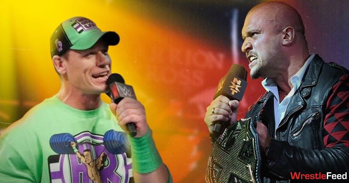 John Cena NXT Champion Karrion Kross WrestleFeed App