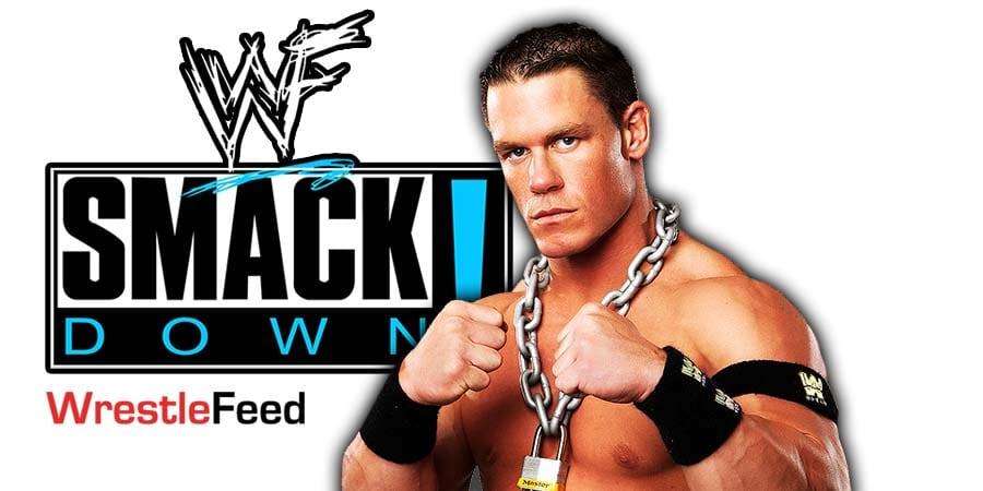 John Cena SmackDown Article Pic 2 WrestleFeed App