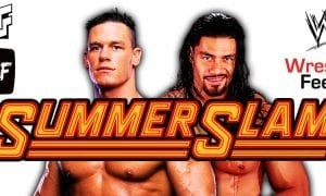 John Cena vs Roman Reigns WWE SummerSlam 2021 WrestleFeed App